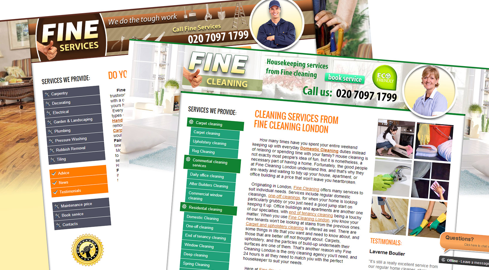 Fine Services & Fine Cleaning